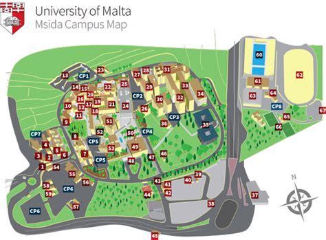 Floor Planning Finance by Campus Map University Of Malta