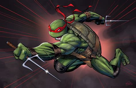 what color are the turtles raphael turtle