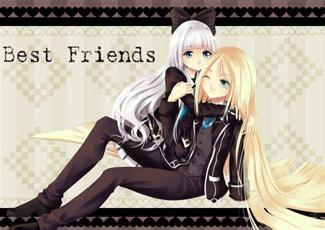 3 Anime Best Friends by Best Friends P Commish For Rhia Kun By Silverdragonamai
