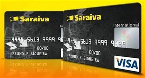peça agora o seu cartão de crédito da saraiva sem anuidade