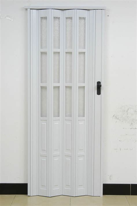 Folding Concertina Doors Interior Pvc Folding Door L10 003ps Casual Door Plastic Door Accordion Doors H205cm W86cm Postage Free In