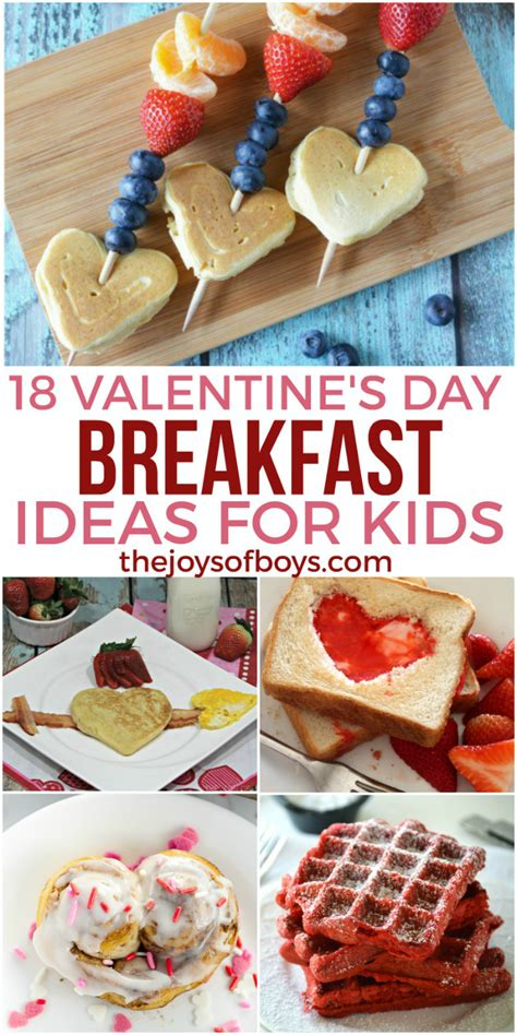 day ideas for 18 s day breakfast ideas for the joys of boys