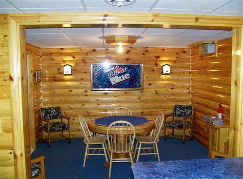 rustic man cave build   log cabin man cave