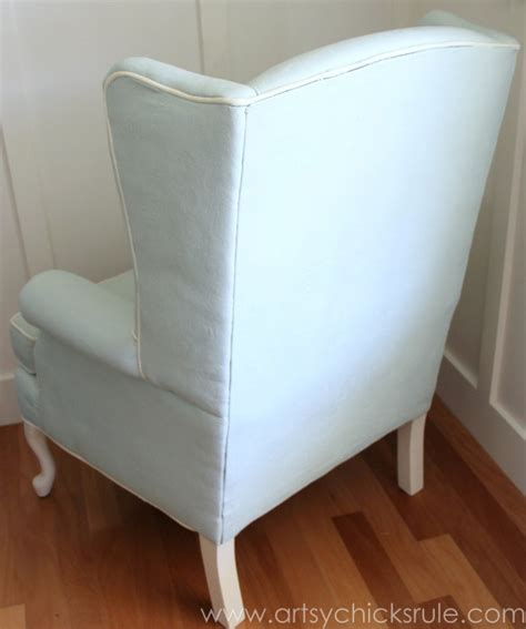 diy chalk paint chair painted upholstered chair makeover chalk paint artsy