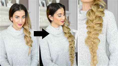 pictures ofhaircuts that make your hair look thicker how to make your braid look longer youtube