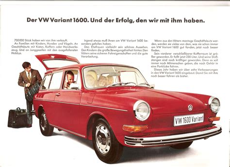 Manitoba 411 Lookup Thesamba Vw Archives July 1969 Type 4 411 Variant Sales Brochure German