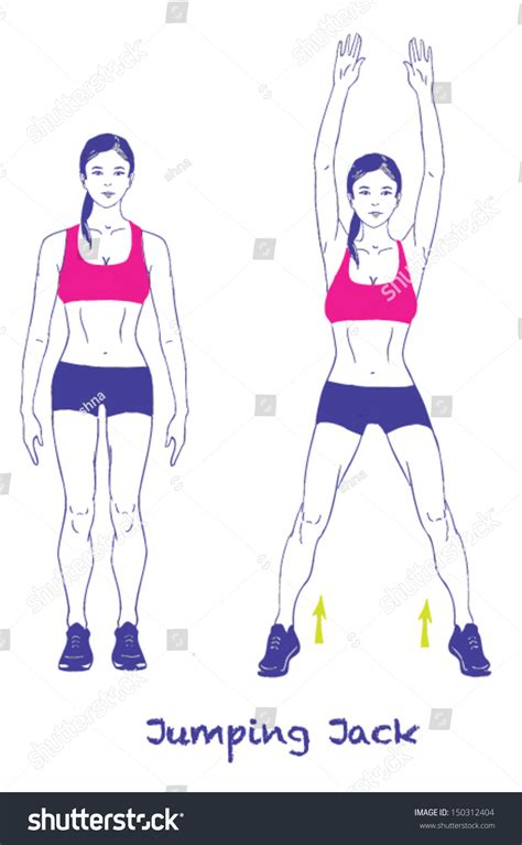 signed sports silhouettes woman  exercisesjumping