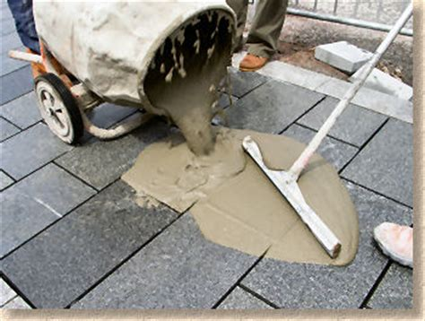 How To Do Pointing On Patio by Pavingexpert Jointing And Pointing For Paving