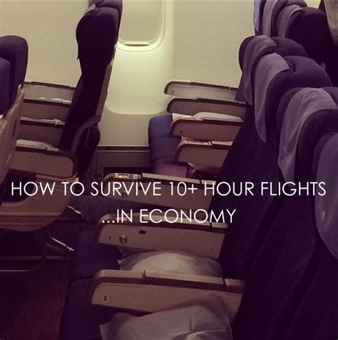 how to be comfortable on long flights travel tip surviving 15 hour flights in economy hitha