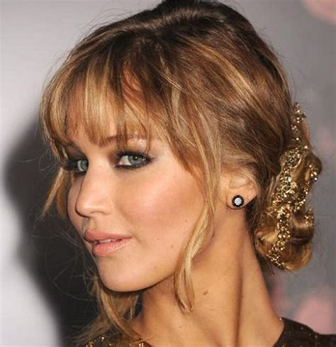 hairstyles bangs updo updos with bangs google search hair ideas