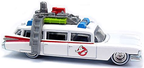 Hotwheels Four 1 White ghostbusters ecto 1 85mm 2010 wheels newsletter