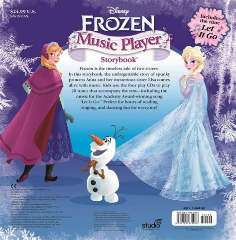 Disney Frozen Player Storybook With 20 Tunes Including Disney Frozen Player Storybook Book By Disney