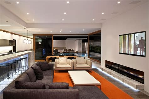 white leather living room ideas
