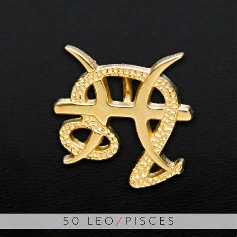 unity design concepts 50 leo and pisces gold unity