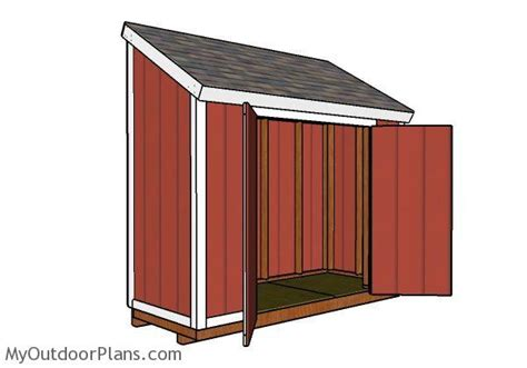 4x10 shed plans myoutdoorplans free woodworking plans