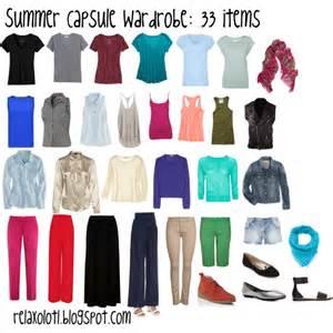 summer capsule wardrobe polyvore