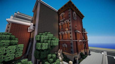 minecraft town houses new york townhouse wok minecraft project