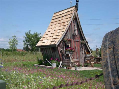 Unique Sheds Trying To Balance The Madness Cool Garden Shed Ideas