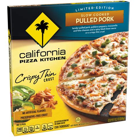 California Pizza Kitchen White Pizza by California Pizza Kitchen Frozen Nutrition Facts