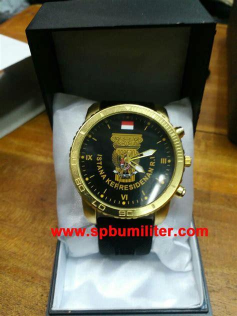 Jam Tangan Cewek Sov Logo Istana jam tangan eksklusif istana presiden kanvas gold spbu militer