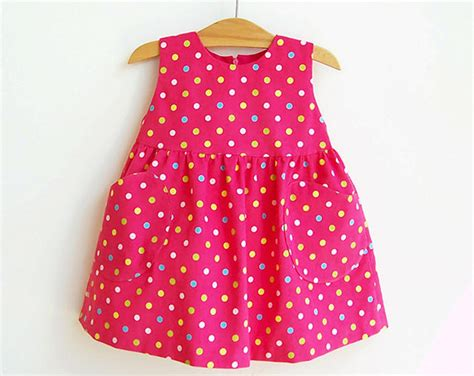 pattern dress child yummy dotted baby girl overall dress pattern pdf sewing