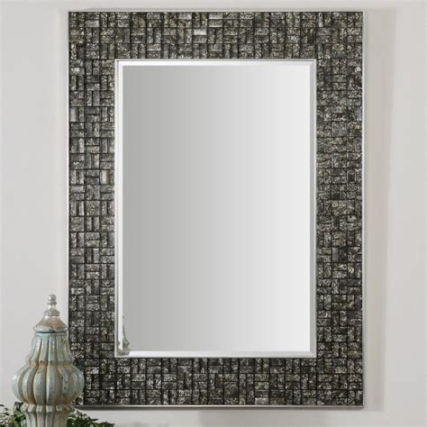 tile bathroom mirror frame 30 ideas of mosaic tile framed bathroom mirrors