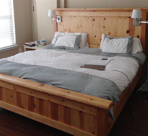 wonderful king size bed frame plans design decor king