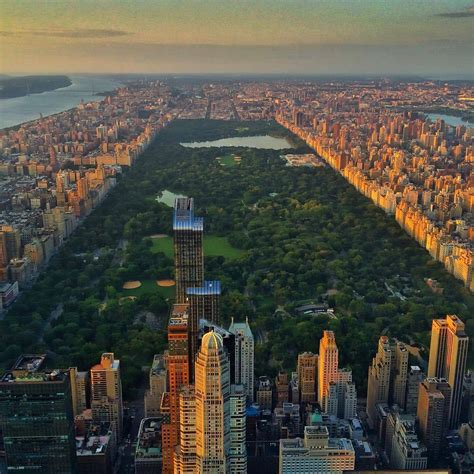 new york from the new york city feelings central park from above by nyonair flynyon nyc