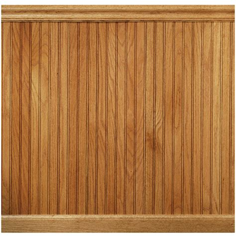 Real Wood Wainscoting Manor House 96 Quot Solid Wood Wall Paneling In Oak