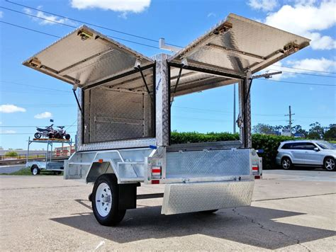 boat trailer canopy 7x4 tradesman trailer aluminium canopy trailers