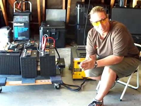 guide  battery recondition golf car battery youtube