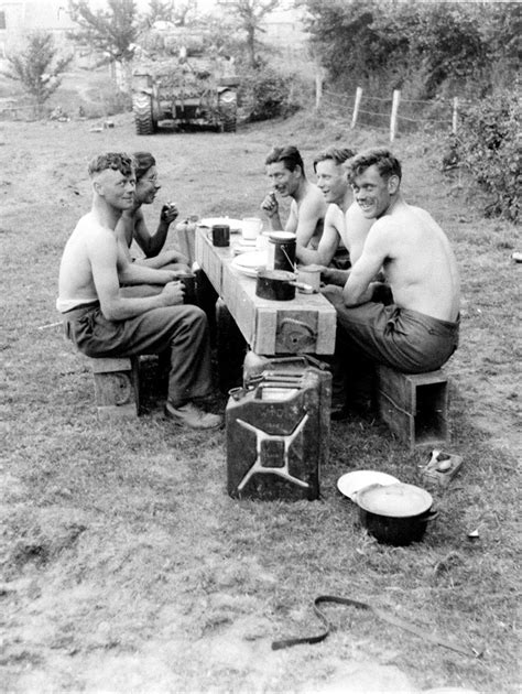 187 national museum of the a tank crew s evening meal vernay 1944