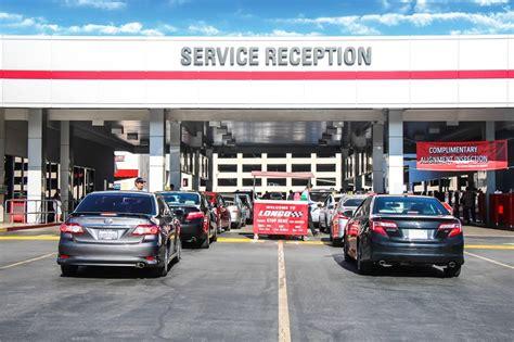 Longo Toyota Service Drive Penske Motor Group Office
