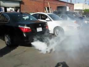 bmw 525i smoke problem cvv problem part 1