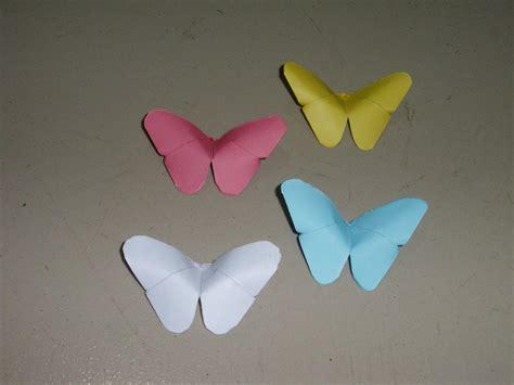 Mit Origami - basteln origami schmetterling falten mit papier