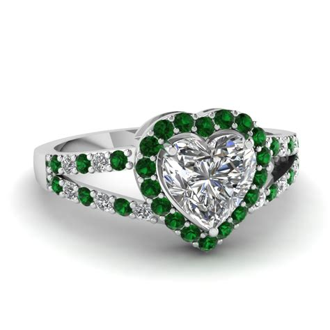 7 Engagement Rings From Since1910 by Sapphire Halo Split Engagement Ring In 14k