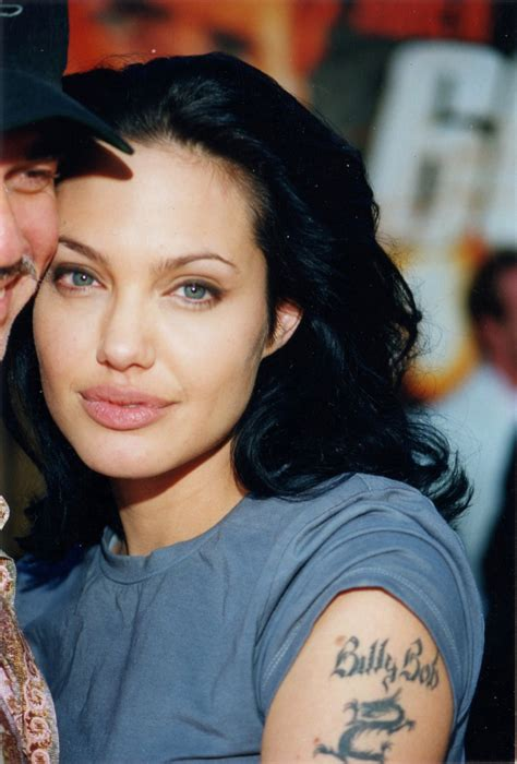 angelina billy bob tattoo removed billy bob www pixshark