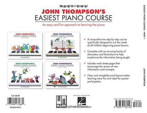 john thompson s easiest piano course john thompson s easiest piano course part 1 books good shoppr