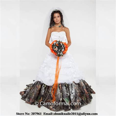 White Camo Wedding Dresses by 2015 Camo Wedding Dress Promotion Shop For Promotional