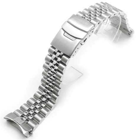 Seiko 5 Bracelets 22mm jubilee replacement bracelet for for seiko skx007 22mm