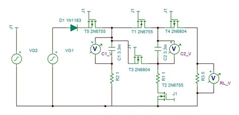 capacitor bank discharge circuit transistors parallel gt series switches for capacitor bank only one charges electrical