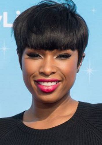 black hairstyles for full face women 19 short stylish hair with full bangs pixie bob