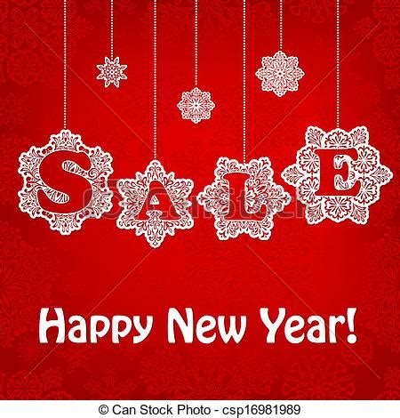 new year sale vector vector of vector new yaer sale placard vector new year