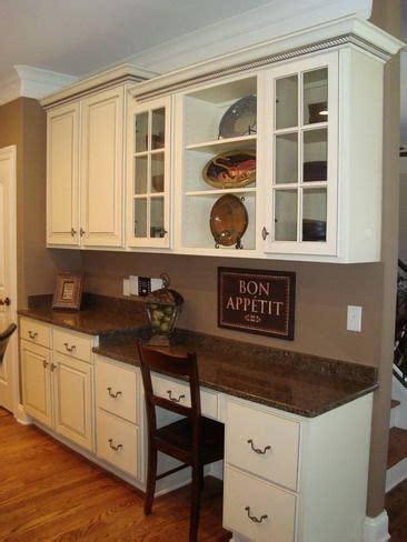 kitchen desk cabinet 17 best ideas about kitchen desk areas on pinterest