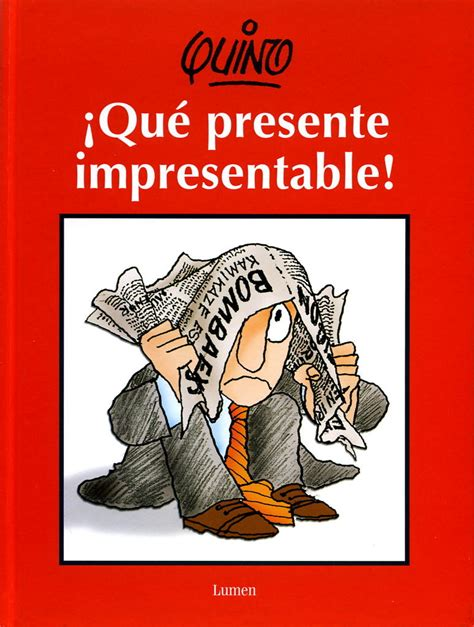 libro que presente impresentable libros de humor pruebaquino
