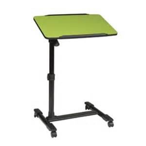 Portable Patio Awnings Adjustable Top Mobile Laptop Cart In Green Lt733 6