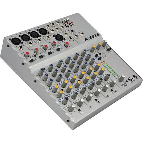 Mixer 8 Channel Bekas alesis s 8 8 channel compact mixer music123