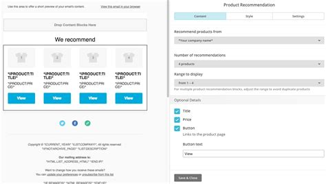 mailchimp ecommerce templates mailchimp integration with ecommerce support