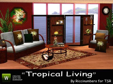 Tropical Living Room Furniture Thenumberswoman S Tropical Living Room