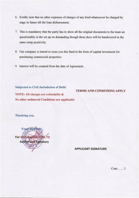 Icici Bank Loan Approval Letter Financial Fraud Singma Finance Pvt Ltd Icomplaints In